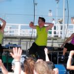 Zumba fitness na plaży, reportaż, zdjęcia, fotografia, zawody, trening, pokazy, Gdynia, Gdańsk, Trójmiasto, Bystydzieńska