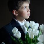 Marek - sesja zdjęciowa z I Komunii Św., licencja na fotografowanie w kościele, fotograf rodzinny Bystydzieńska. Gdynia, Trójmiasto