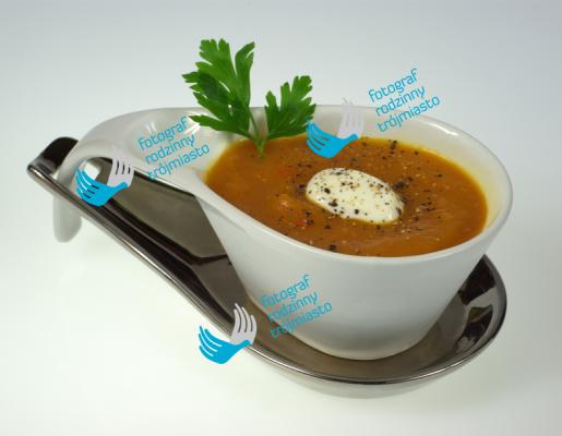 zupa dyniowa, jedzenie - zdjęcia produktów, fotograf rodzinny trójmiasto bystydzienska