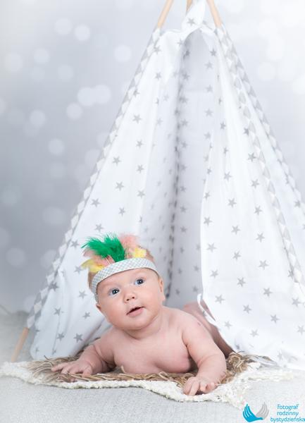 sesja zdjeciowa niemowleca Florian trojmiasto bystydzienska studio