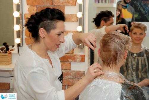 Reportaż fryzjerski