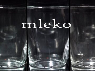Mleko - film eksperymentalny